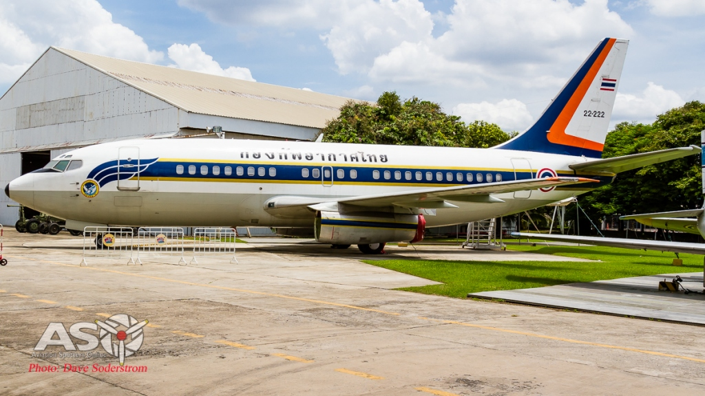 RTAF Museum Boeing 737-200 ASO 3 (1 of 1)