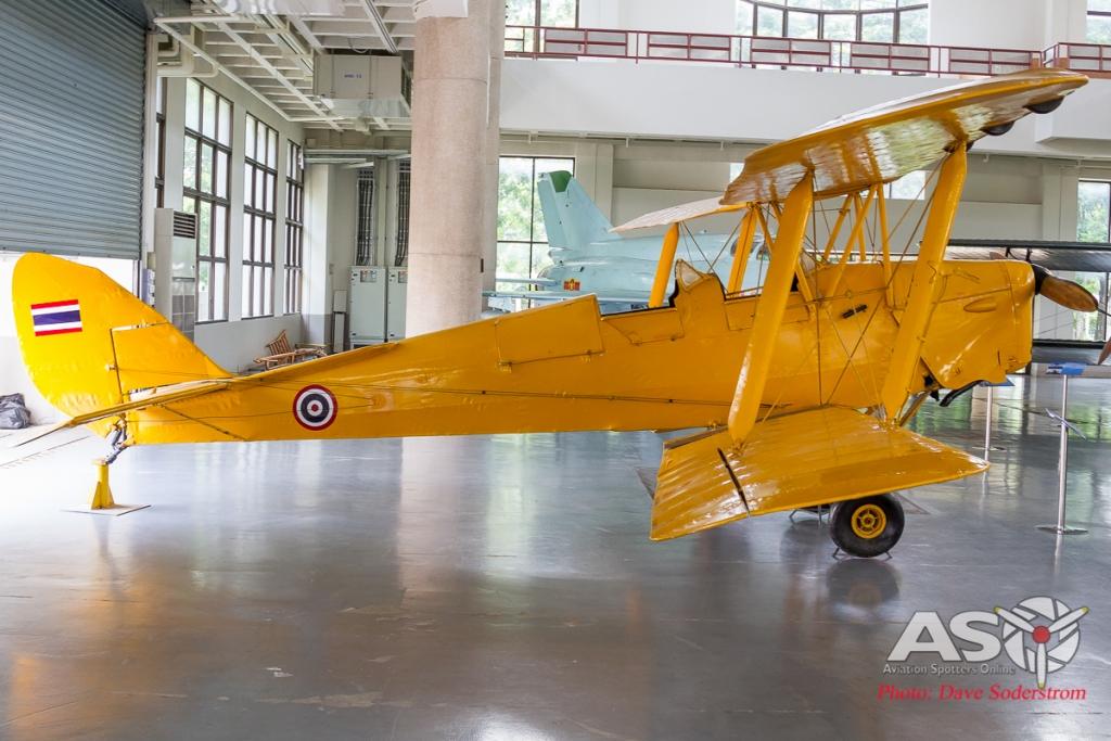 RTAF Museum DH-82 Tigermoth ASO (1 of 1)