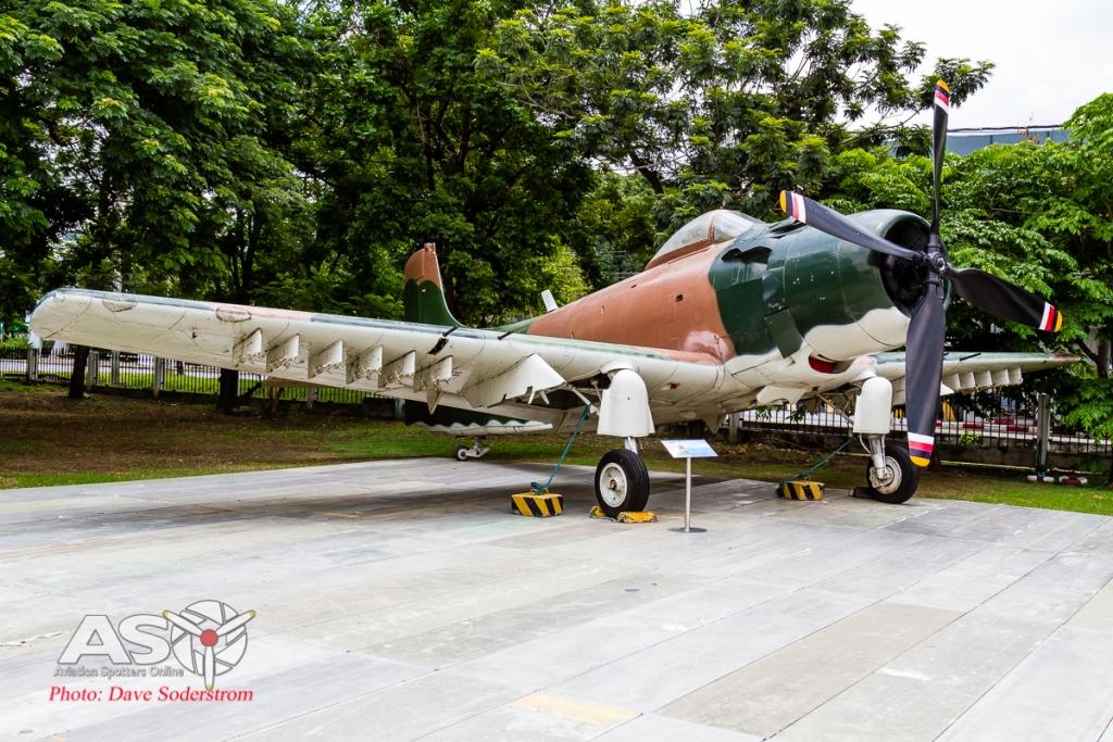 RTAF Museum Douglas A1-H Skyraider ASO 2 (1 of 1)