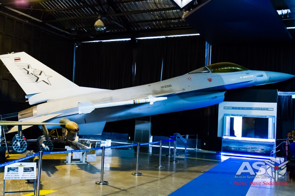 RTAF Museum General Dynamics F-16A ASO (1 of 1)