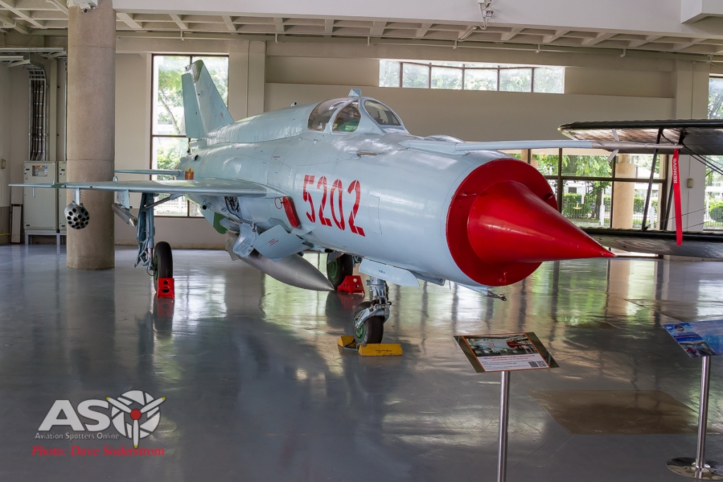 RTAF Museum Mig-21 ASO (1 of 1)