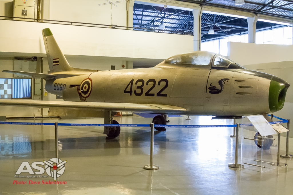 RTAF Museum North American Sabre ASO (1 of 1)