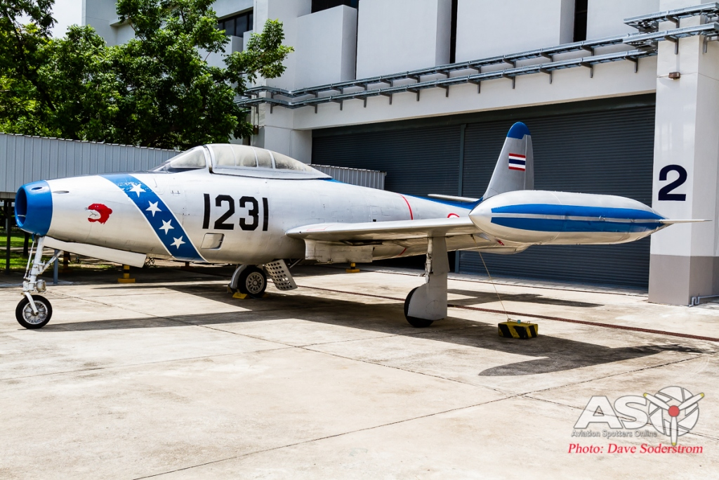 RTAF Museum Republic F-84G ASO (1 of 1)