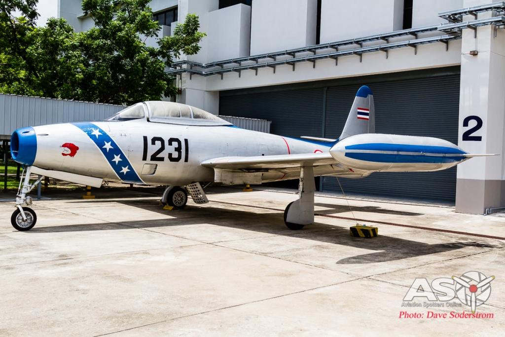 RTAF Museum Republic F-84G ASO (1 of 1)