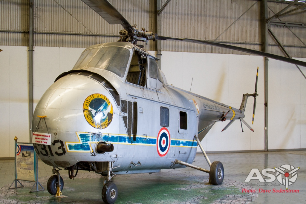 RTAF Museum Sikorsky S-55 H3-3-97 '6313' ASO (1 of 1)
