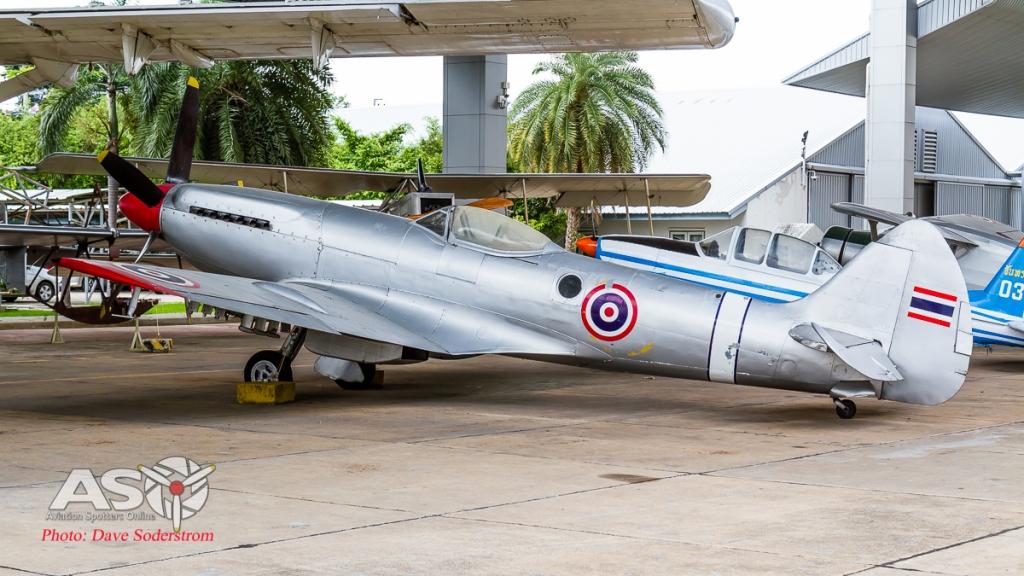 RTAF Museum Spitfire Mk22 ASO (1 of 1)