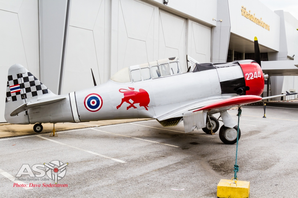 RTAF Musuem T-6 Texan ASO (1 of 1)