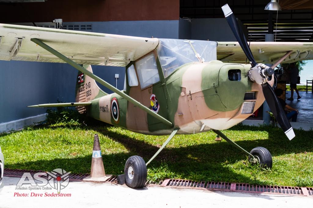 RT Navy U-Taupo Cessna O-1E Birddog 1303 (1 of 1)
