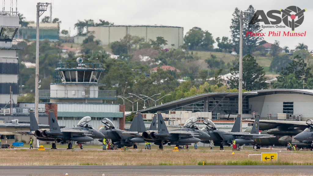 RSAF F-15SG's Preparing for another sortie.