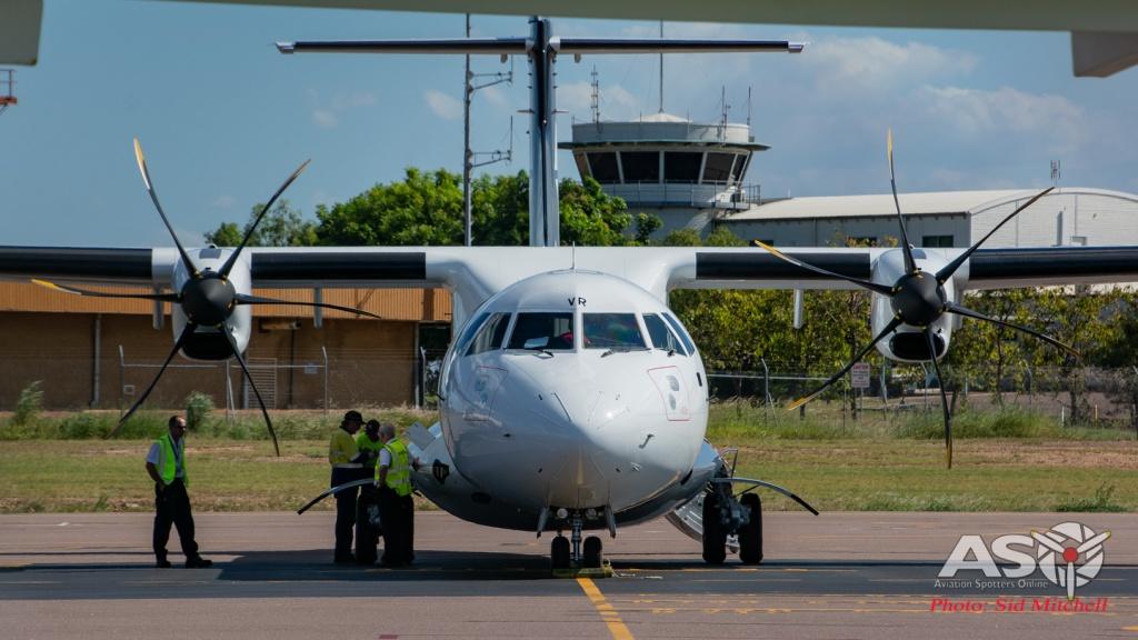 Air New Zealand transi ATR -72