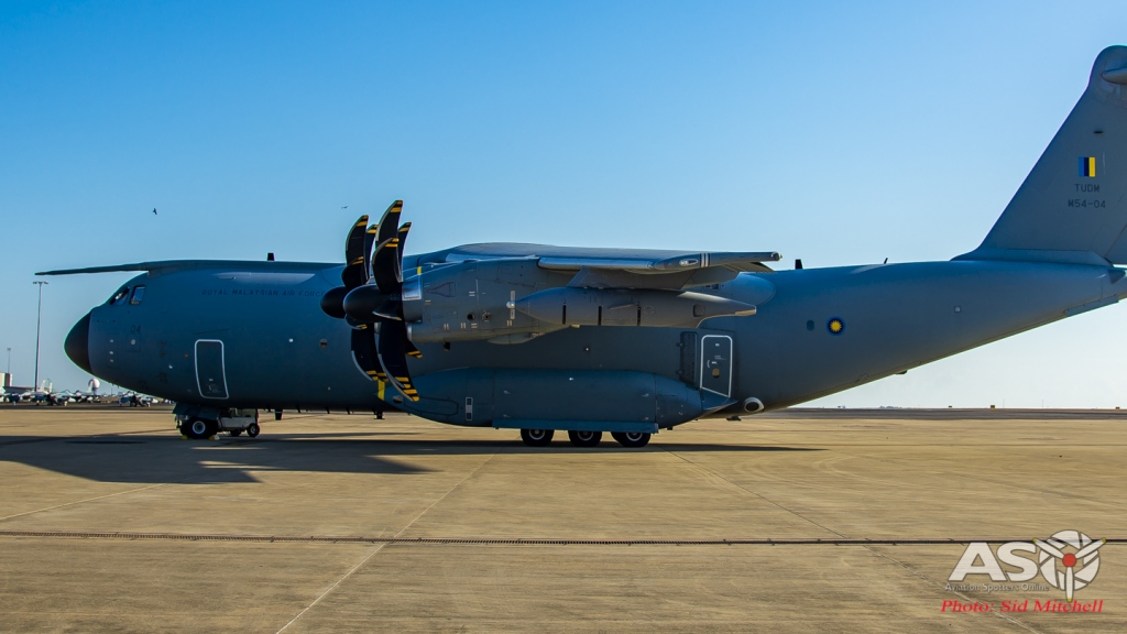 Royal Malaysian Air Force A400m Atlas