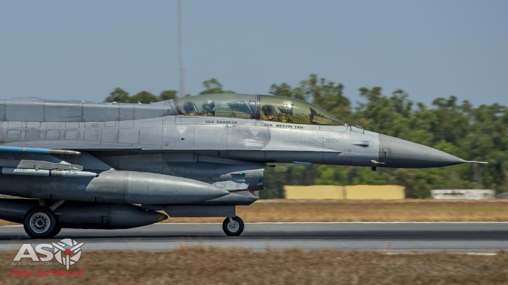 RSAF F-16D