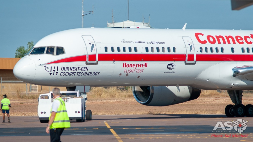 Honeywell B757 Testbed