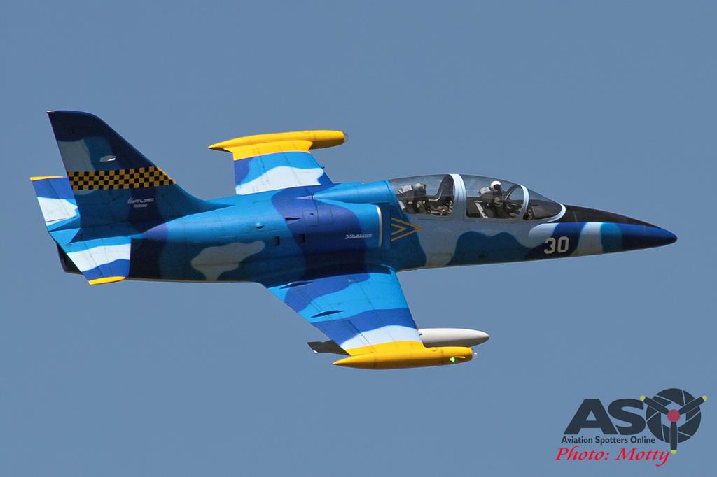 Mottys Flight of the Hurricane Scone 2 1973 RC L-39 Albatros-001-ASO