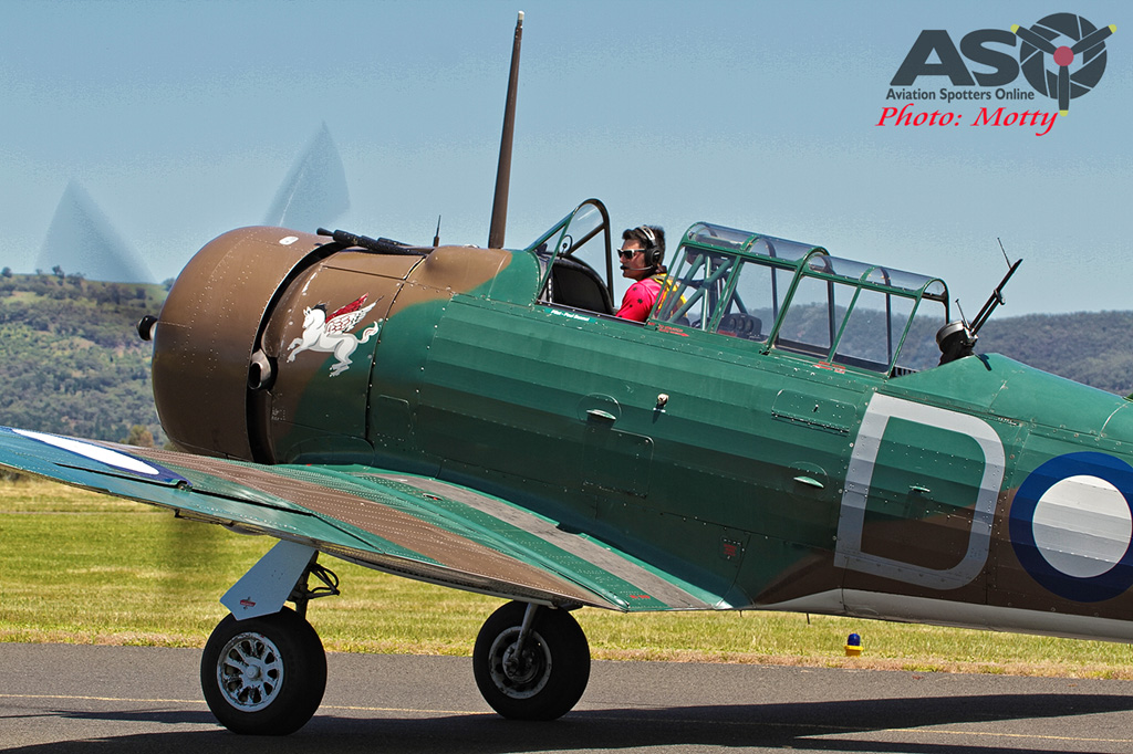 Mottys Flight of the Hurricane Scone 2 2296 CAC Wirraway VH-WWY-001-ASO