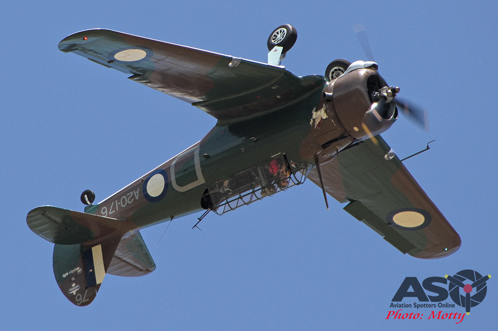 Mottys Flight of the Hurricane Scone 2 2914 CAC Wirraway VH-WWY-001-ASO