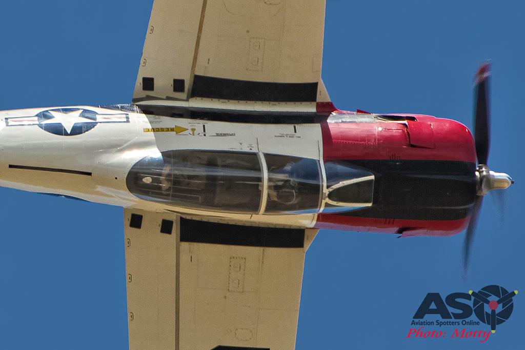 Mottys Flight of the Hurricane Scone 2 3340 T-28 Trojan VH-FNO-001-ASO