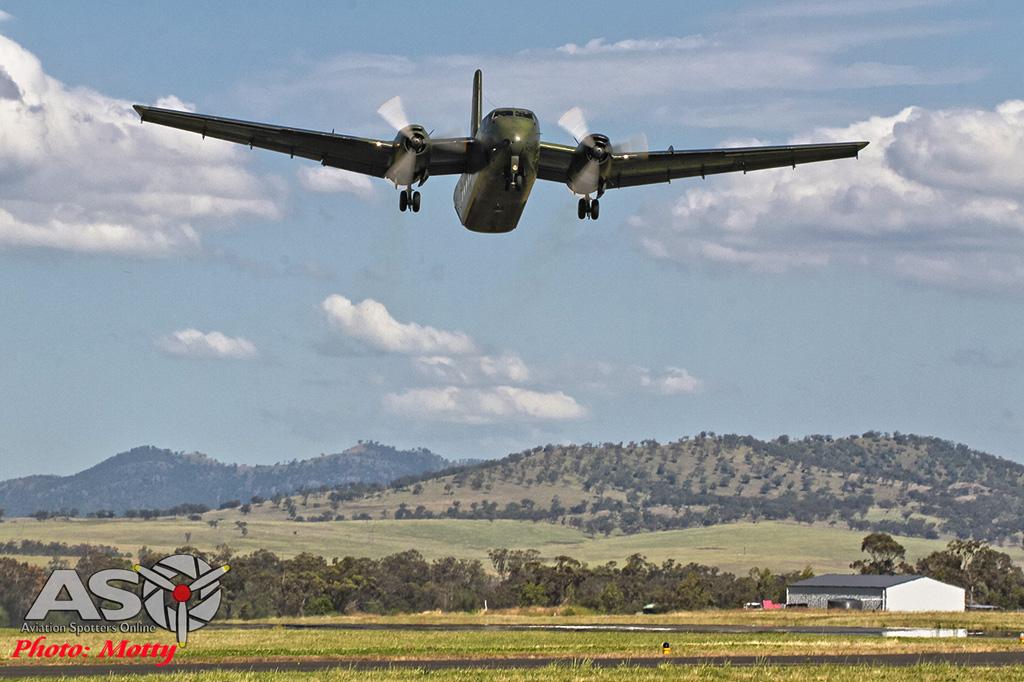 Mottys Flight of the Hurricane Scone 2 9999_724 DH Caribou VH-VBB-001-ASO