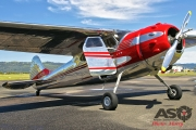 Mottys Flight of the Hurricane Scone 2 0123 Cessna 195 VH-KXR-001-ASO