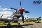 Mottys Flight of the Hurricane Scone 2 0262 Spitfire MkVIII VH-HET & Hurricane VH-JFW-001-ASO