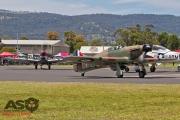 Mottys Flight of the Hurricane Scone 2 3984 Spitfire MkVIII VH-HET & Hurricane VH-JFW-001-ASO