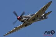 Mottys Flight of the Hurricane Scone 2 4310 Spitfire MkVIII VH-HET-001-ASO