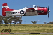 Mottys Flight of the Hurricane Scone 2 2997 T-28 Trojan VH-FNO-001-ASO