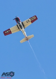 Mottys Flight of the Hurricane Scone 2 3114 T-28 Trojan VH-FNO-001-ASO