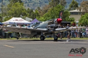 Mottys Flight of the Hurricane Scone 2 3928 Spitfire MkVIII VH-HET-001-ASO
