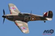 Mottys Flight of the Hurricane Scone 2 4874 Hurricane VH-JFW-001-ASO