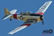 Mottys Flight of the Hurricane Scone 2 9394 T-6 Texan VH-HAJ-001-ASO