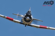 Mottys Flight of the Hurricane Scone 2 9475 T-6 Texan VH-HAJ-001-ASO