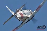 Mottys Flight of the Hurricane Scone 2 9508 T-6 Texan VH-HAJ-001-ASO