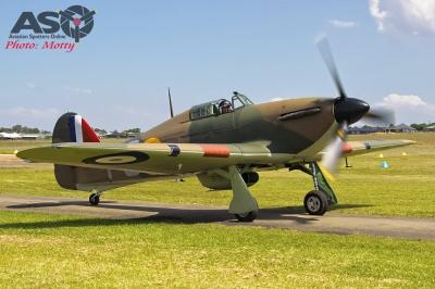 Mottys Flight of the Hurricane Scone 1 0096 Hurricane VH-JFW-001-ASO