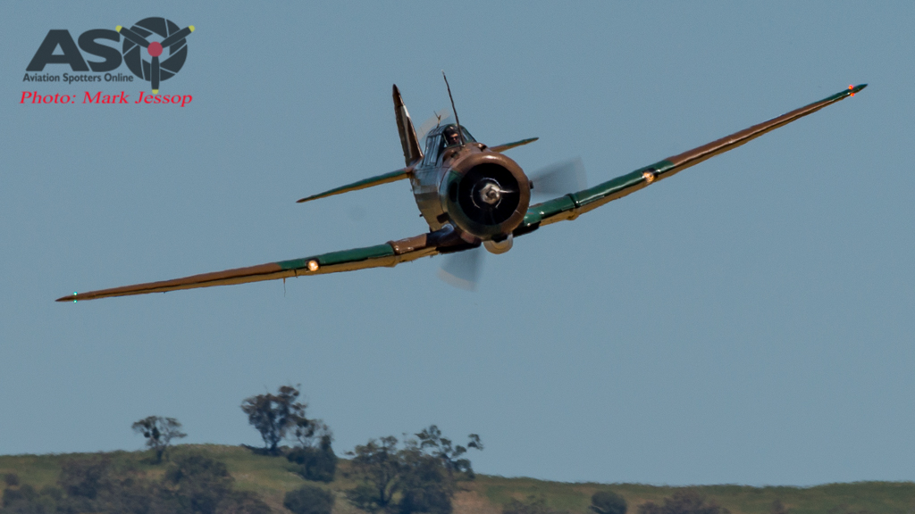 CAC Wirraway flown by Tim Dugan.