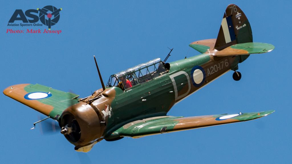 CAC Wirraway flown by Tim Dugan.