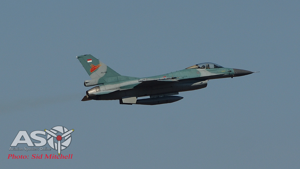 Indonesian Air Force F-16MLU