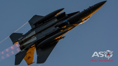 F-15SG Mindil Beach Sunset display