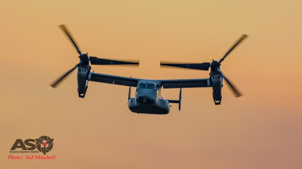 USMC MV-22B Osprey from VMM-268