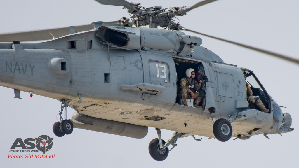 USN Sikorsky HH-60H Rescue Hawk 165121 Helicopter Sea Combat Squadron 85