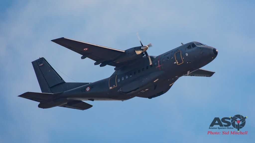 CASA CN-235M-200 of the French Air Force overseas transport squadron (ETOM) 52 based in New Caledonia