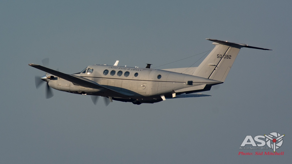 Beechcraft C-12V-3 Huron (B200C) 6th Battalion of The 52nd Aviation Regiment of the US Army