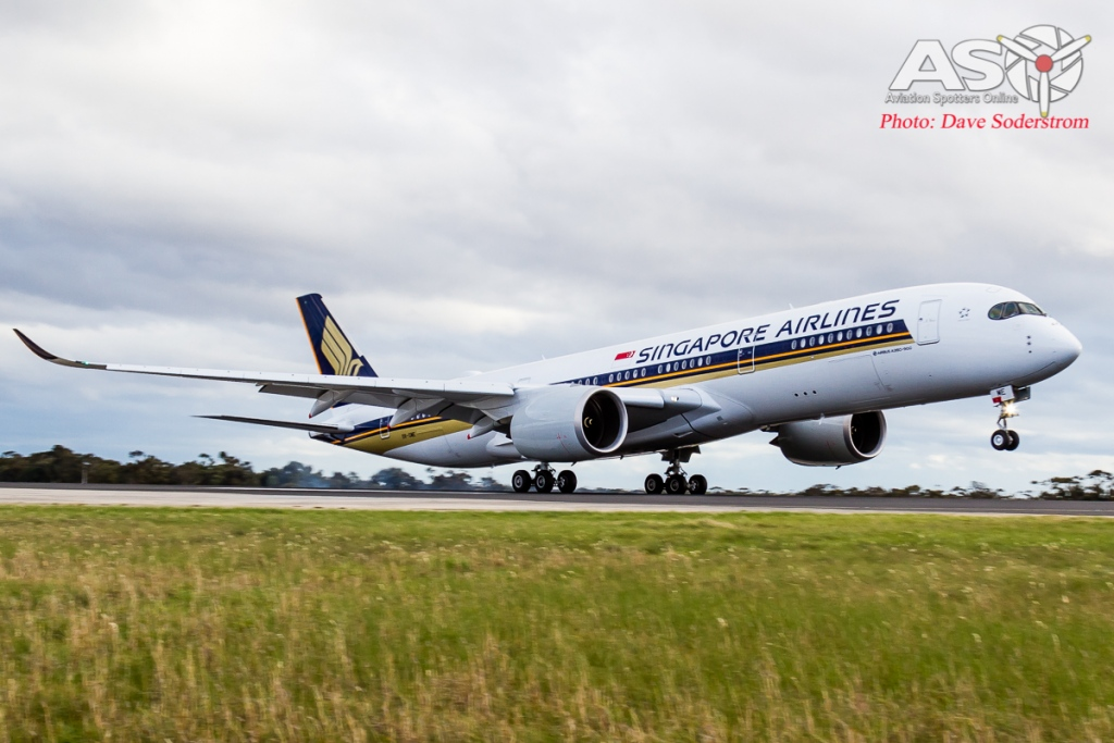9V-SME Singapore Airlines Airbus A350 ASO (1 of 1)