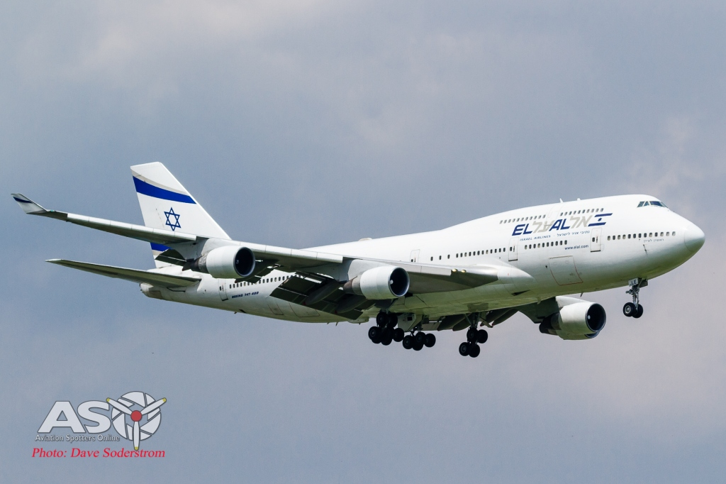 4X-ELE Israel Airlines Boeing 747-412 ASO (1 of 1)
