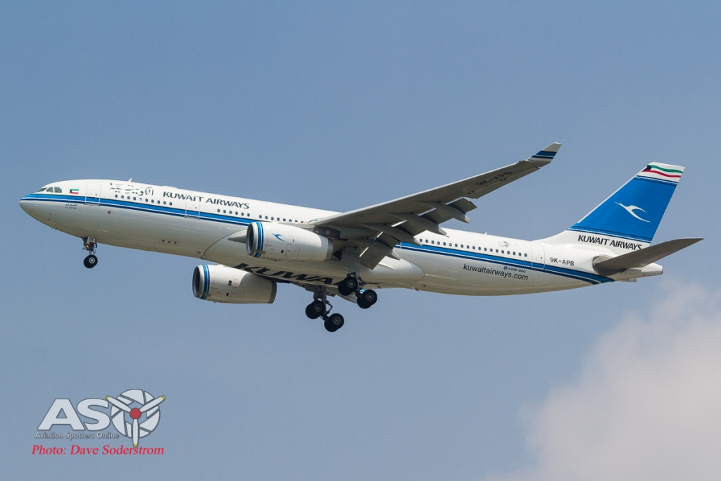 9K-APB Kuwait Airlines Airbus A330 ASO (1 of 1)