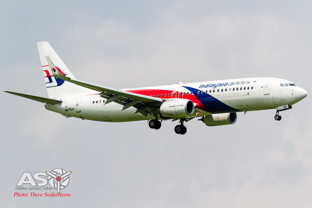 9M-MXF Malaysian Airlines Boeing 737-800 ASO 2 (1 of 1)