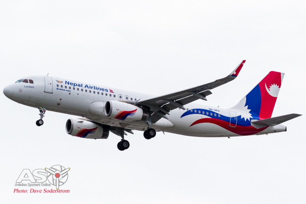 9N-AKX Nepal Airlines Airbus A320 ASO (1 of 1)