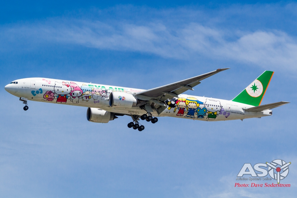 B-16703 EVA Air Boeing 777-300ER ASO (1 of 1)