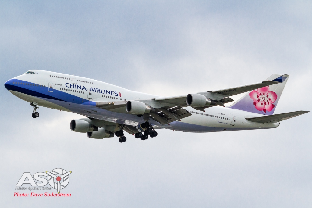 B-18207 China Airlines Boeing 747-400 ASO (1 of 1)