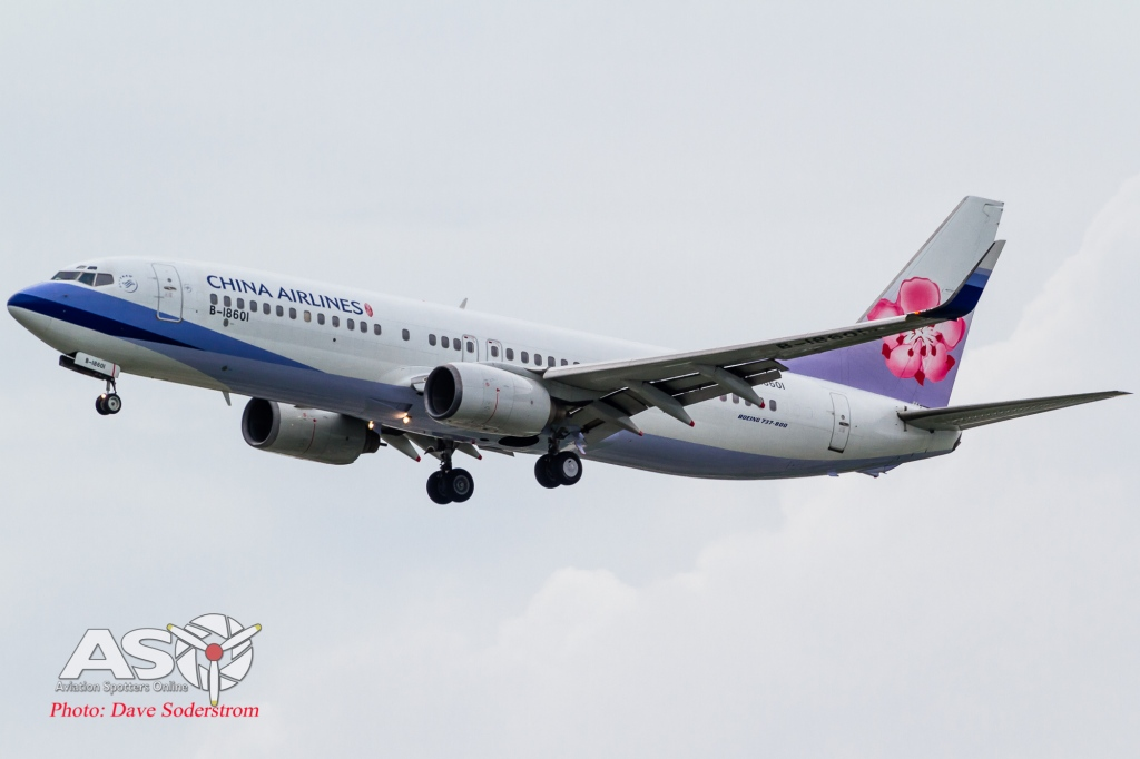 B-18601 China Airlines Boeing 737-800 ASO (1 of 1)